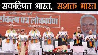 आजादी के 75वें साल में 75 लक्ष्यों को पूरा करेगी भाजपा #LokSabhaElection2019