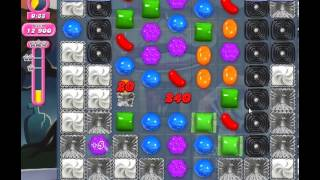 Candy Crush Saga Level 223 - 1 Star - no boosters