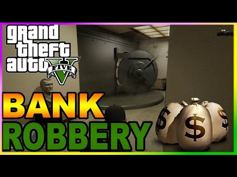 can you rob a bank in gta 5 online ps4