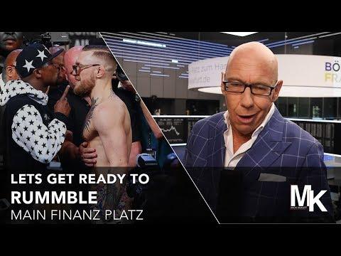 Mayweather v McGregor - Main Finanz Platz - 25.08.2017