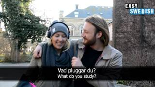 Easy Swedish 2 - What do you study?