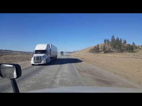 BigRigTravels  US 212 West(Part 1)-Sonnette to Ashland, Montana-Oct. 28, 2017