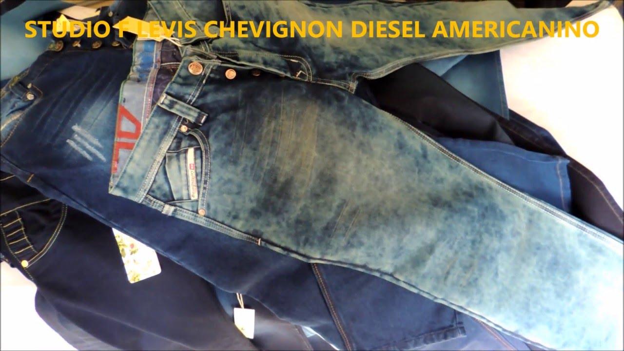 67c2fa97e18 JEANS LEVIS DIESEL STUDIO F CHEVIGNON AMERICANINO - YouTube