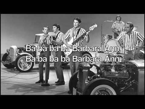 Barbara Ann  The Beach Boys with lyrics otherwise known as The Banana Song