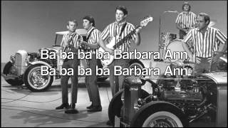 Barbara Ann - The Beach Boys (with lyrics) [otherwise known as