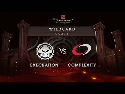 Execration vs Complexity - Game 1 - The International 6 Wildcard
