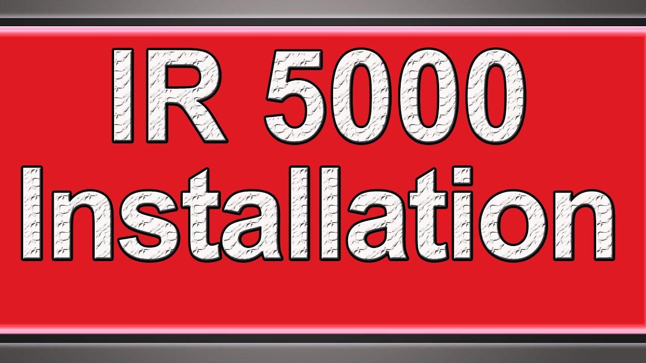 CANON IR5000 PCL6 TREIBER HERUNTERLADEN