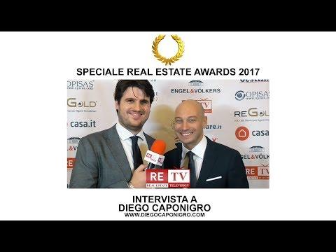 Real Estate Awards 2017 - Intervista a Diego Caponigro