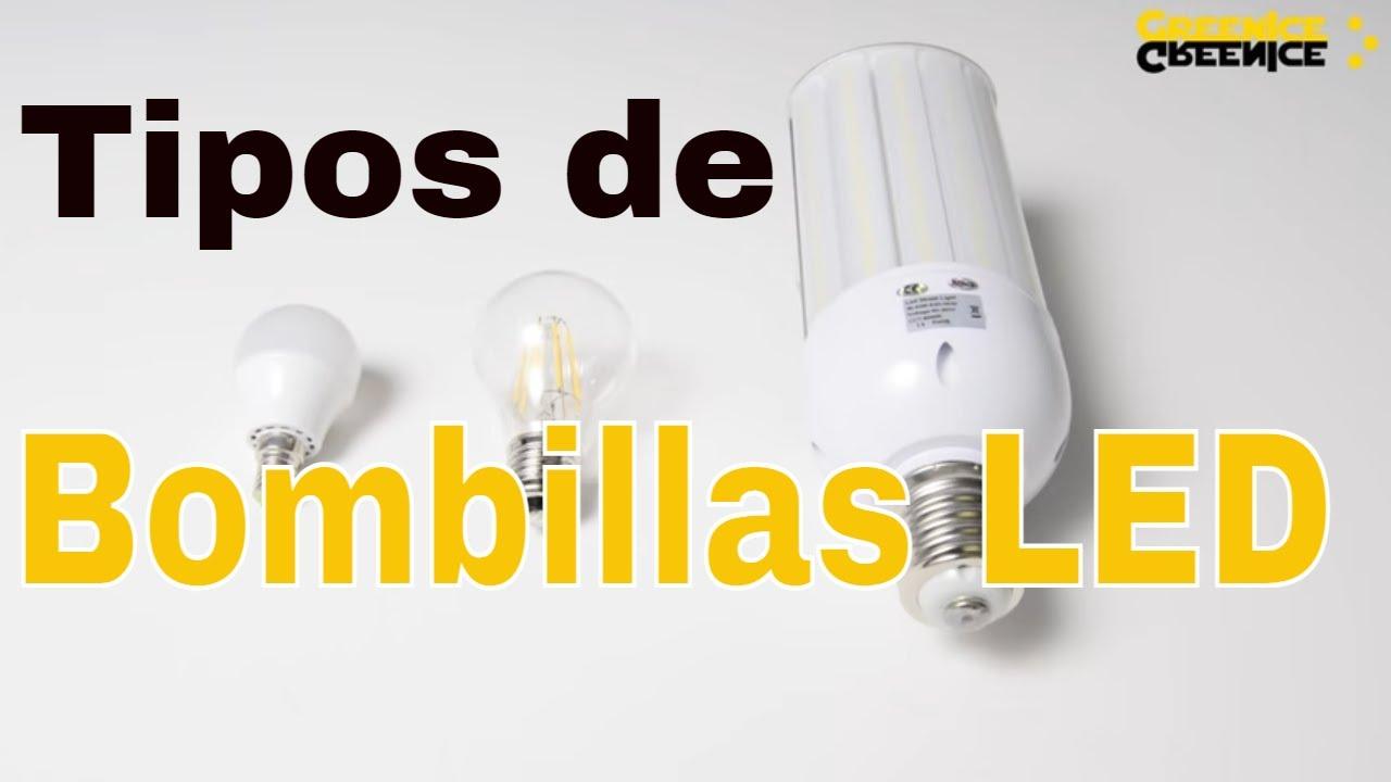 Tipos de casquilos en l mparas y bombillas led youtube - Tipos de lamparas ...