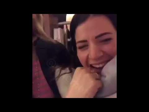 """VIDEO - Lady Giaccherini e Lady Maggio cantano """"Abbracciame"""" al compleanno di Diego Sepe"""