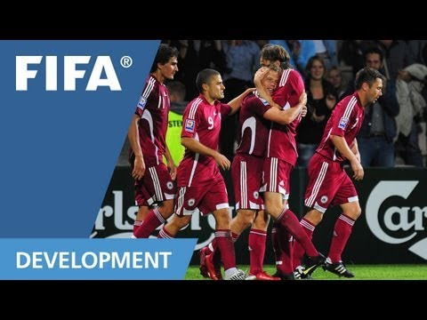 Football developing in Latvia, Lithuania