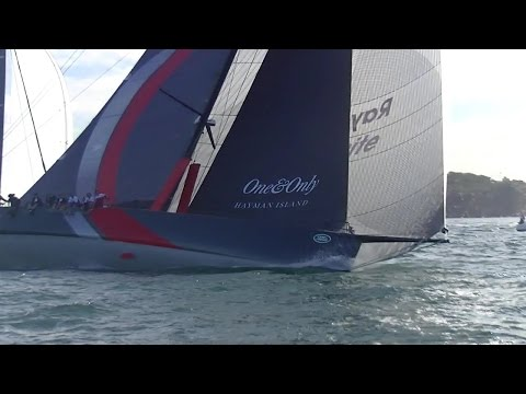 2016 CYCA/SYC Land Rover Sydney to Gold Coast Yacht Race Start