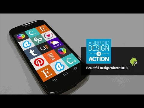 Android Design in Action: Beautiful Design Winter 2013 Highlights