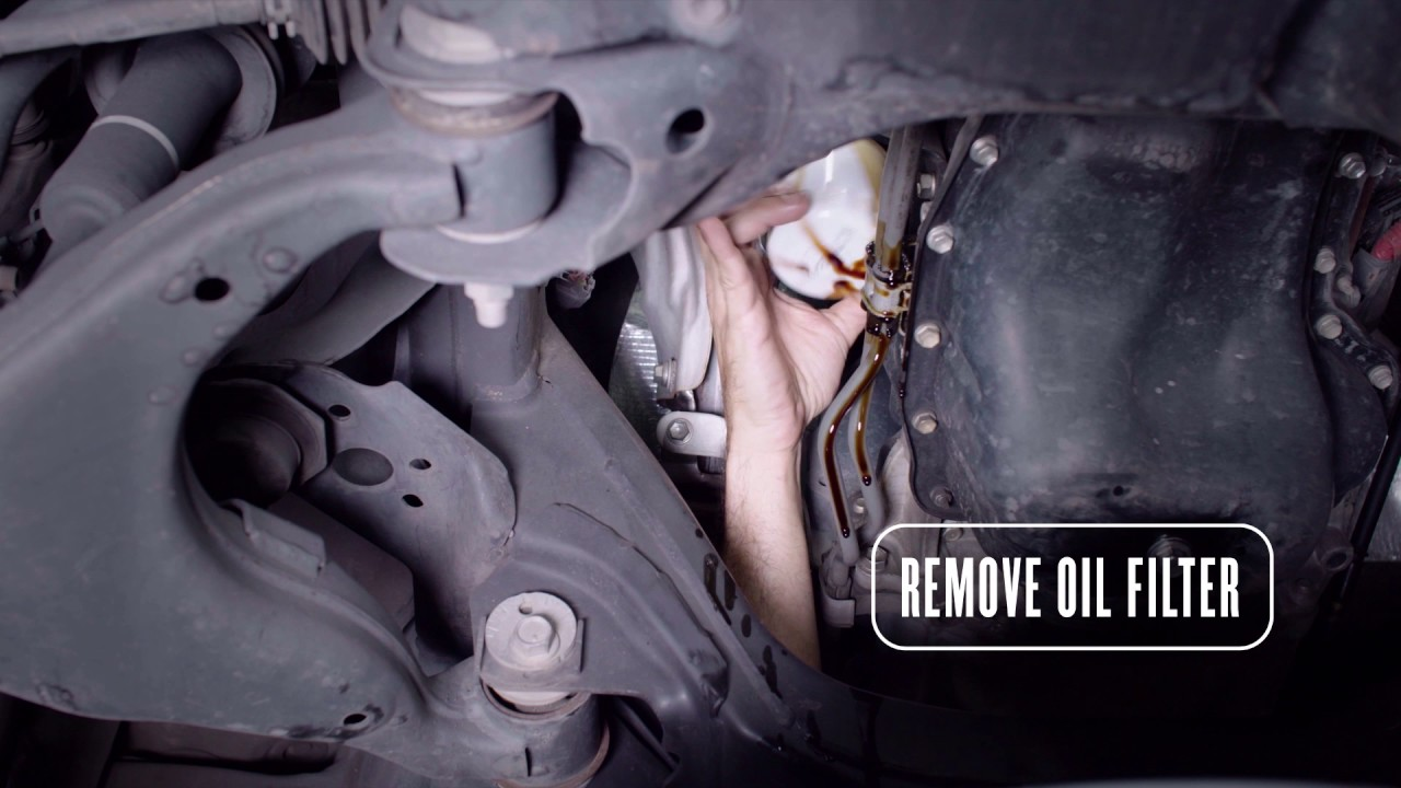 How To Change The Oil In A Toyota Tacoma Youtube