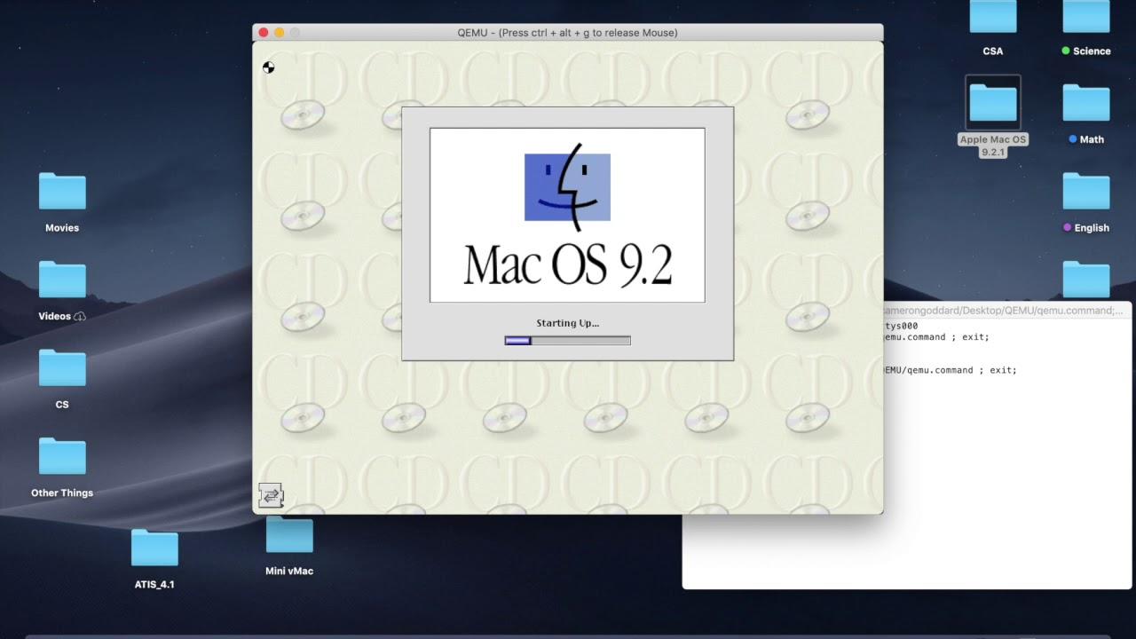 MacOS QEMU: Installing and Setting up Classic Mac OS [1]