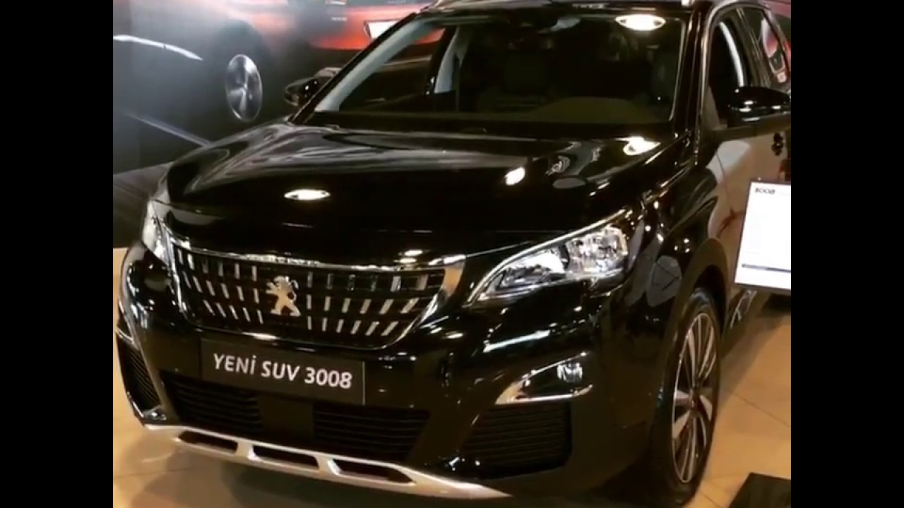 new suv peugeot 3008 show - youtube