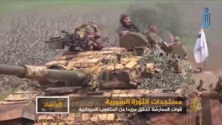 المعارضة المسلحة   هجمات استثنائية في دمشق وحماة