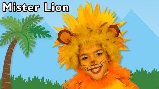 Mister Lion + More | Mother Goose Club Playhouse Songs & Rhymes