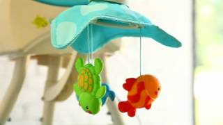 Fisher Price Precious Planet Blue Sky Cradle Baby Swing - Product Review Video