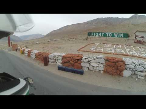 High altitude army training camps of Ladakh