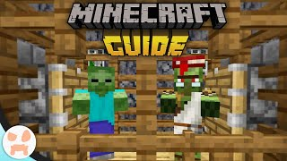 ZOMBIE VILLAGER CONVERTER FARM! | The Minecraft Guide - Tutorial Lets Play (Ep. 98)