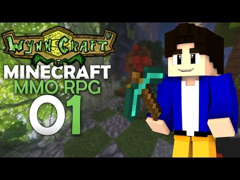 MINECRAFT AVENTURE MMO RPG ! WYNNCRAFT - EP 01