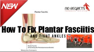 How to Fix Plantar Fasciitis Weak Feet & Tight Ankles With Simple Exercises