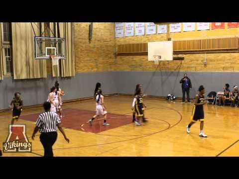 Amundsen High School Girls Basketball Game 1-23-14 (Senior Night)