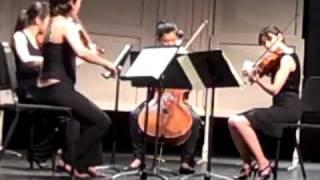 Brahms String Quartet No.1 in C Minor 1.