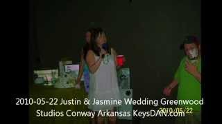 2010 05 22 Justin & Jasmine Wedding Greenwood Studios Conway Arkansas KeysDAN com