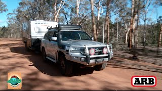 On location with ARB in the Perth hills with the 200 series Landcru...