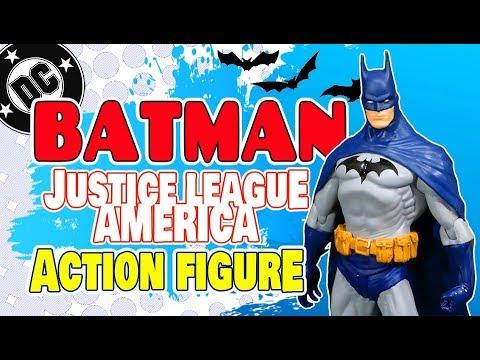 DC Direct Justice League America Batman Action Figure Toy Review