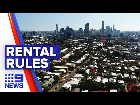 New rental laws could strip homeowners power to decide tenants | Nine News Australia