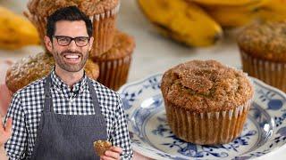 AMAZING Banana Muffin Recipe