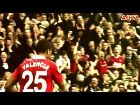 Antonio Valencia 2009 - 2013 Manchester United [HD]