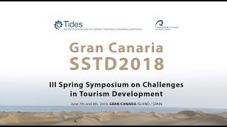 Gran Canaria SSTD2018, III Spring Symposium on Challenges  in Tourism Development
