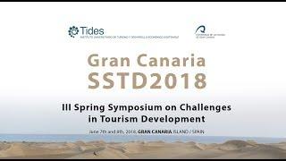 Gran Canaria SSTD2018, III Spring Symposium on Challenges  in Tourism Development