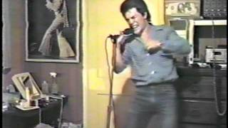 Tony Vogler  (Elvis or Bruce?)  Glory Days 1985