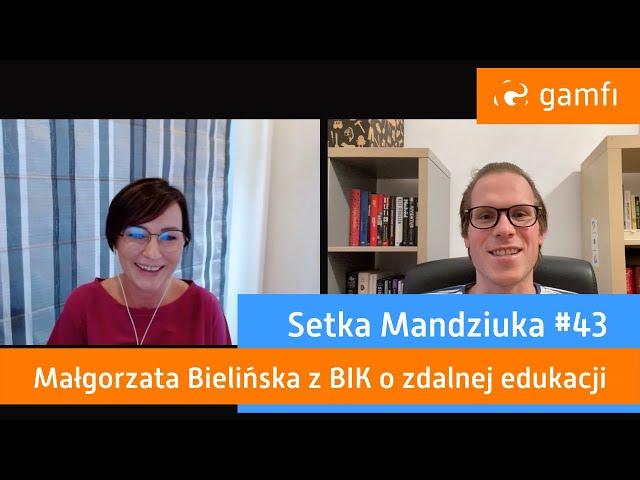 Setka Mandziuka #43 (Gamfi): Platforma grywalizacyjna ScoreHunter od BIK