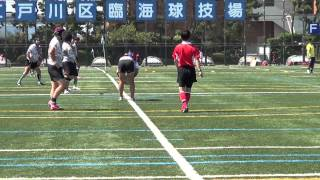 Repeat youtube video 20140921_城東ドンキーズvsかすみ草