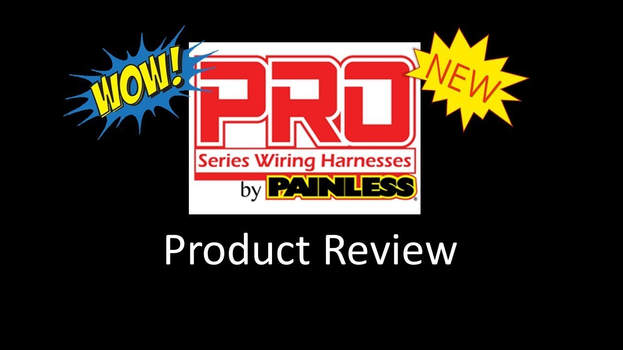 painless performance pro series chassis harness kit unboxing [ 1280 x 720 Pixel ]
