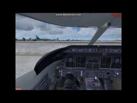Full learjet flight (Eidw to whatever the place were going)