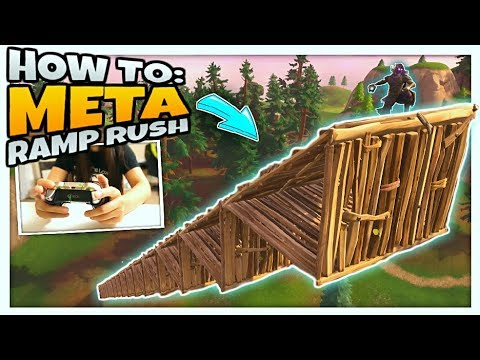 CONTROLLER CAM HOW TO FLOOR RAMP WALL RUSH EASIEST WAY Console Fortnite Build Tips PS4
