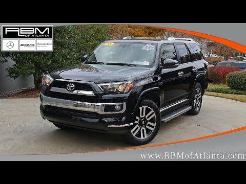 Used 2018 Toyota 4Runner Limited ATLANTA, GA U15457A