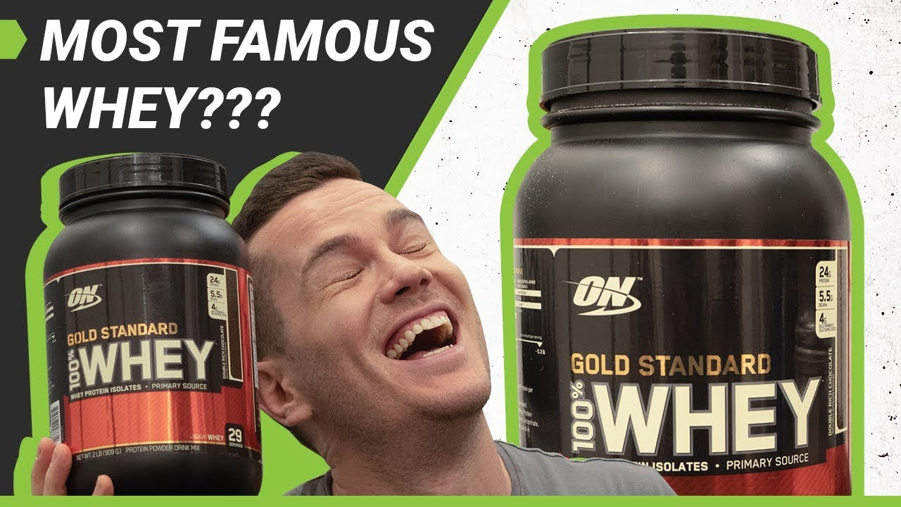 Optimum Nutrition Gold Standard Whey Protein Review - Most Popular Powder?  - BarBend
