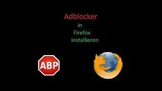 Adblocker in Firefox installieren   Tutorial #8   PC Center