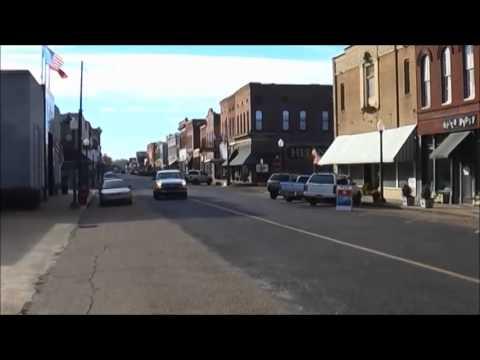 Helena, Arkansas - where a radio show crystallized blues music...