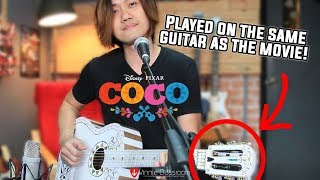 Coco : Remember me (Song cover with Guitar Replica!)