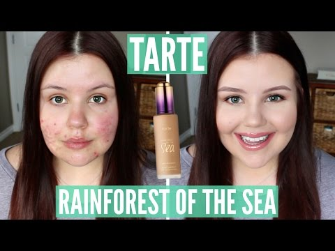 First Impressions | Tarte Rainforest of the Sea Water Foundation (Acne/Scarring)