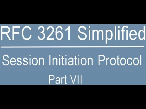 RFC 3261 Simplified: Session Initiation Protocol Part-Seven